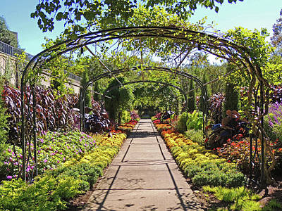 Cheekwood Gardens Arched Pathway Poster