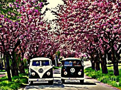 Cheery Blossom Poster by S Poulton