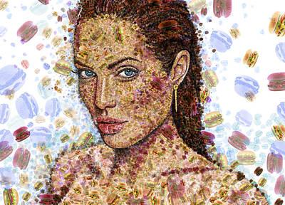 Cheeseburger Jolie Poster