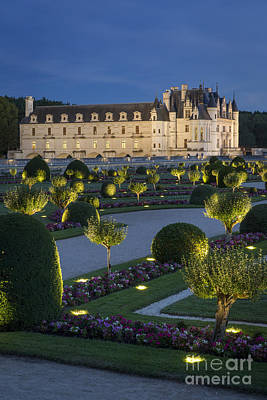 Chenonceau Lights Poster