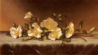 Cherokee Roses Poster by Martin Heade