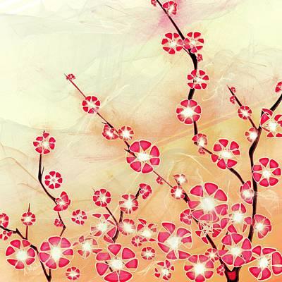 Cherry Blossom Poster by Anastasiya Malakhova