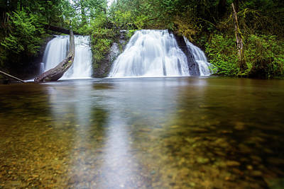 Cherry Creek Falls Poster by Pelo Blanco Photo