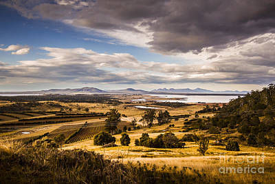 Cherry Tree Hill Lookout Poster by Jorgo Photography - Wall Art Gallery
