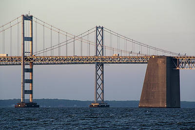 Chesapeake Bay Bridge - Maryland Poster