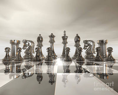 Chess - Regiment Poster by Lori Lejeune