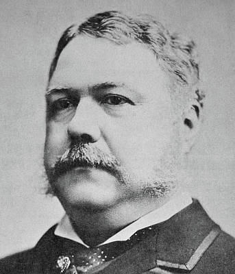 Chester Arthur  Poster by American School