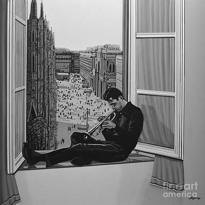 Chet Baker Poster by Paul Meijering