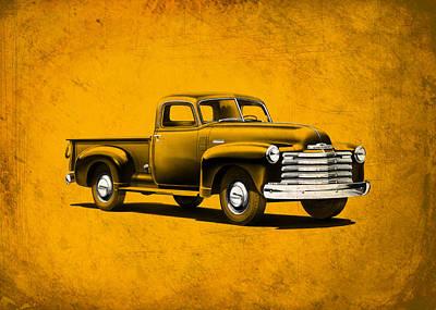 Chevrolet 3100 Poster by Mark Rogan