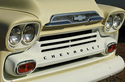 Chevrolet Apache 31 Fleetline Front End Poster