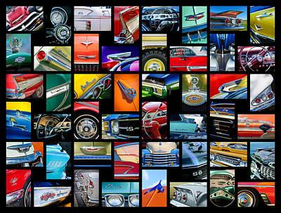 Chevrolet Art -01 Poster by Jill Reger