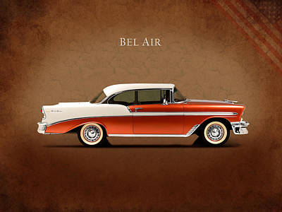 Chevrolet Bel Air Poster by Mark Rogan