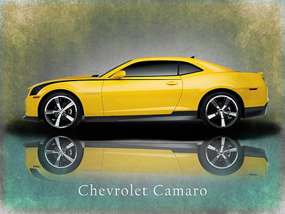 Chevrolet Camaro Poster by Mark Rogan