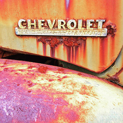 Chevrolet Loadmaster Close-up Poster by Terry Rowe