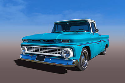 Chevrolet Pickup Poster by Keith Hawley