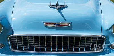Chevrolet 7 Poster by Wendy Wilton