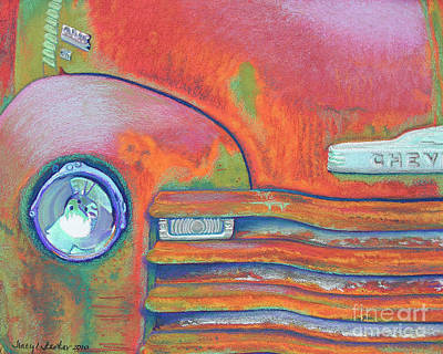 Chevy Rust Poster