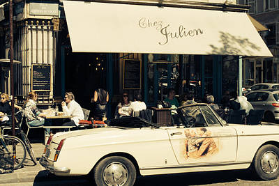 Chez Julien Poster by Pati Photography