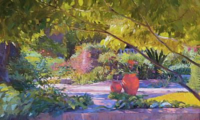 Chicago Botanic Garden Poster