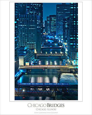 Chicago Bridges Poster Poster
