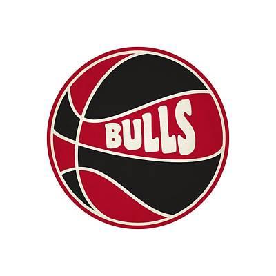 Chicago Bulls Retro Shirt Poster by Joe Hamilton