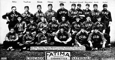Chicago Cubs Poster by Celestial Images