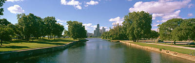 Chicago From Lincoln Park, Illinois Poster
