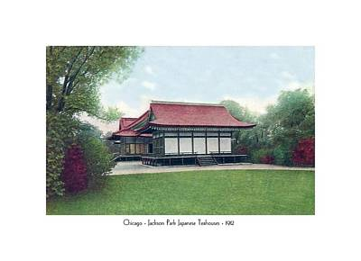 Chicago - Japanese Tea Houses - Jackson Park - 1912 Poster