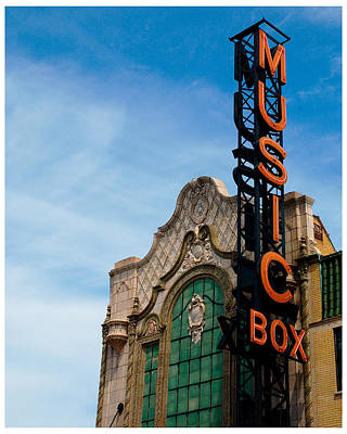 Chicago Music Box Theater Poster