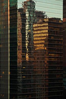 Chicago Reflected Poster by Steve Gadomski
