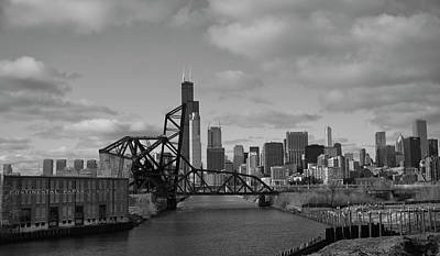 Chicago Skyline 2 Poster