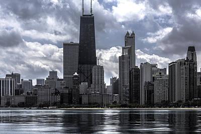 Chicago Skyline Ver3 Poster