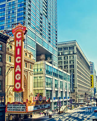 Chicago Streetview Poster