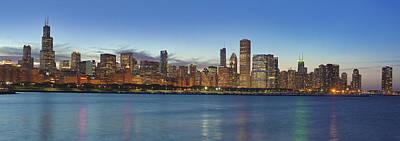 Chicago Summer 2012 Poster by Donald Schwartz