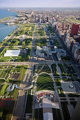 Chicagos Front Yard 2006 Poster by Steve Gadomski