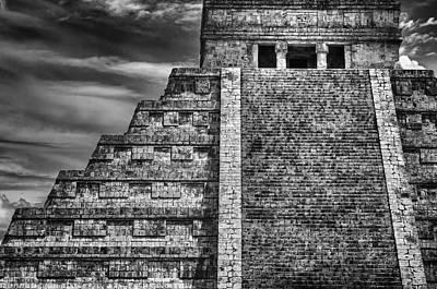 Chichen Itza-mayan Temple Poster by John Hamlon