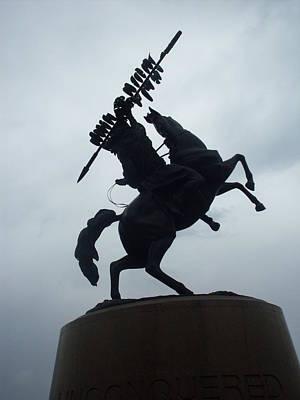 Chief Osceola Statue Poster