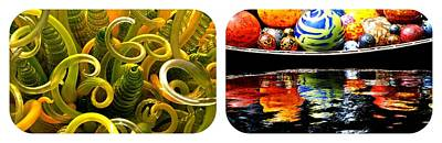 Chihuly Two New York Botanical Gardens Poster