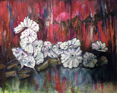 Chihuly Whites Poster