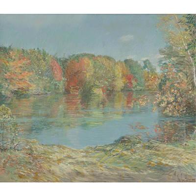 Childe Hassam 1859-1935 Walden Pond Poster