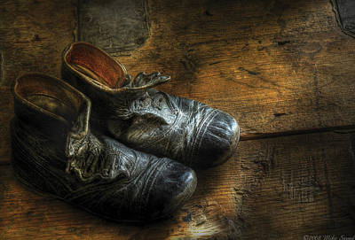 Children - Worn Out Shoes Poster