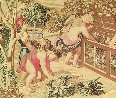 Children Gardening Poster