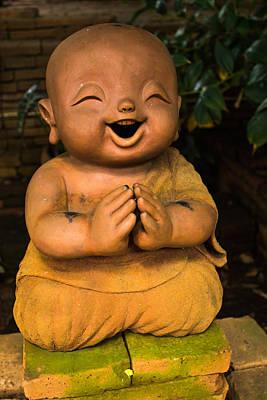 Children Monk Poster