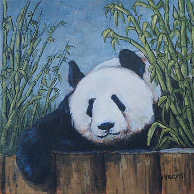 Chillin' Panda Poster