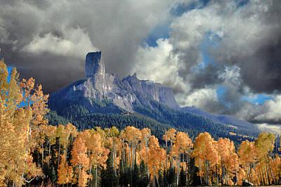 Chimney Rock Poster by David Kehrli