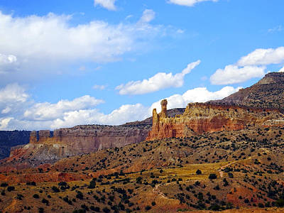 Chimney Rock Ghost Ranch New Mexico Poster