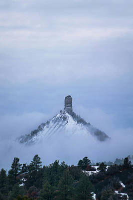 Chimney Rock Rising Poster