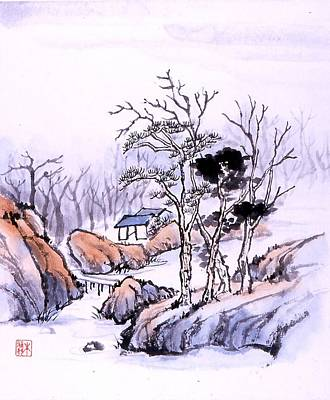 Chinese Landscape Poster