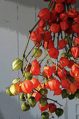 Chinese Lanterns Poster