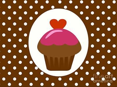 Chocolate Cupcake  Poster